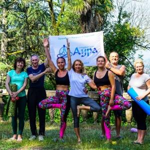 Абхазия-йога 2019 июнь
