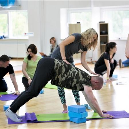Корпоративные йога-тренинги